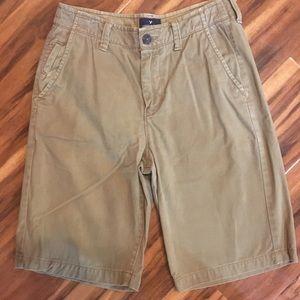 American Eagle Longboard Khaki Shorts. Men's 30.